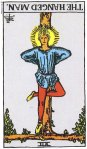 The Hanged Man Reversed