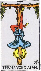 The Hanged Man Upright