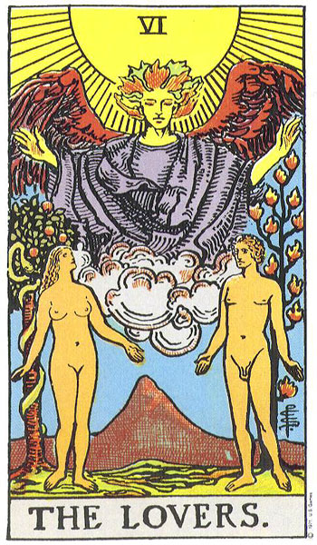 How to Interpret a Relationship Tarot Reading with no Cup Cards! (2/3)