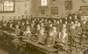 vintage school children