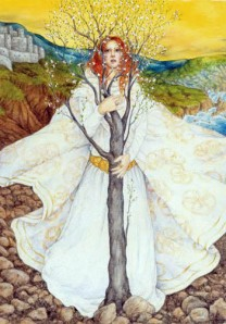 Goddess Bridgid