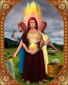 Triple Goddess Brigid