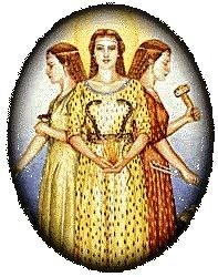 Triple Goddess Brigid