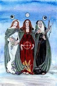 Triple Goddess/Three Sisters