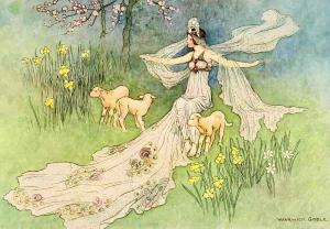 Maiden Goddess Imbolc