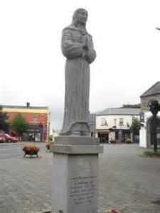 Saint Brigid's Statue