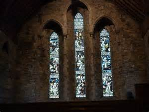 stained glass image st brigid kildare