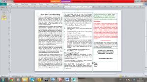 Tarot Brochure - Back