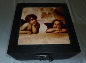 Decorative box for storing tarot cards