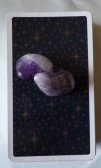 tarot deck with amethyst