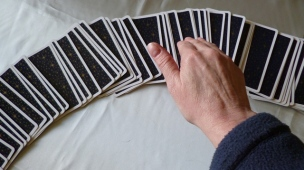Scanning the Tarot for Card Selection