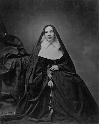 A portrait of a nun