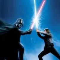 Darth Vadar and Luke