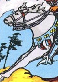 Knight of Swords Horse