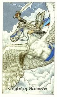 Robin Wood Tarot-Knight