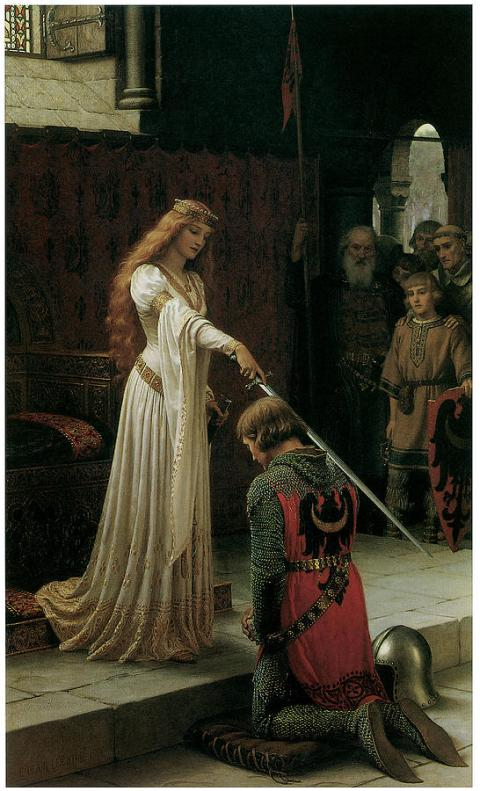 1-the-accolade-edmund-blair-leighton