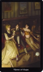 steampunk-tarot-three-cups