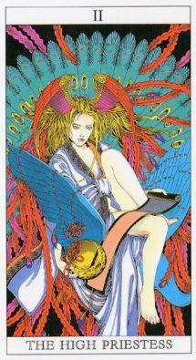 high-priestess-yoshitaka-amana-tarot