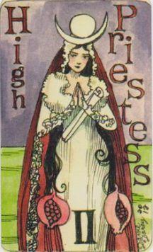 dame-darcy-mermaid-tarot-high-priestess