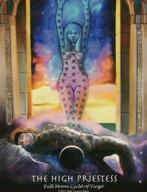 julie cuccia-watts-the-journey-into-egypt-tarot-high-priestess