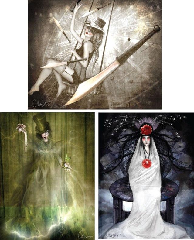 odessa-sawyer-tarot-Fool-Magician-high-priestess