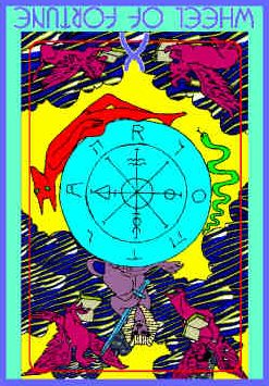 wheel-fortune-colman-smith-tarot
