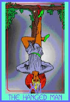 hanged-man-colman-smith-tarot