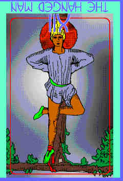 The Hanged Man (XII) Reversed – Truly Teach Me Tarot