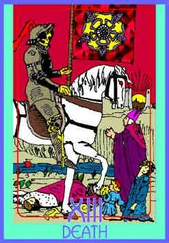 death-colman-smith-tarot