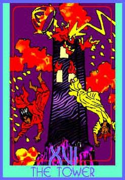 tower-colman-smith-tarot