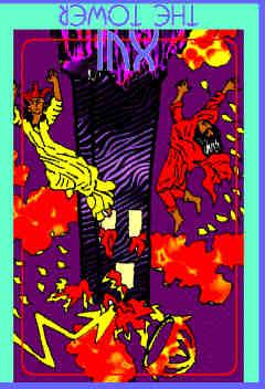 The Tower (XVI) Reversed – Truly Teach Me Tarot