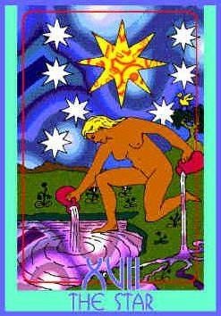 The Star (XVII) Upright – Truly Teach Me Tarot