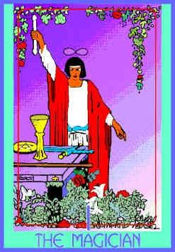 The Magician (I) Upright – Truly Teach Me Tarot