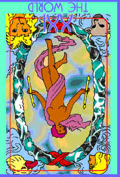 The World (XXI) Reversed – Truly Teach Me Tarot