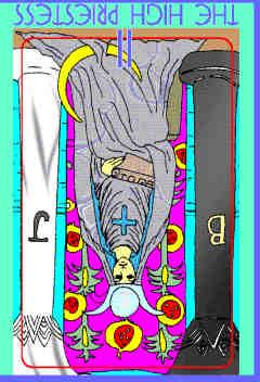 high-priestess-reversed-colman-smith-tarot