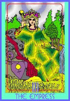 The Empress (III) Upright – Truly Teach Me Tarot