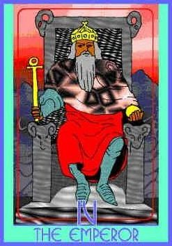 emperor-colman-smith-tarot