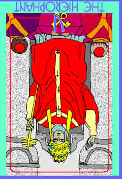 The Hierophant (V) Reversed – Truly Teach Me Tarot