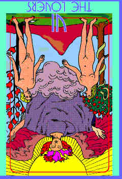 lovers-reversed-colman-smith-tarot