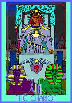 chariot-colman-smith-tarot