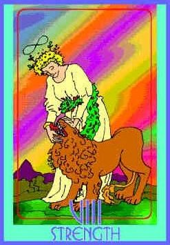 strength-colman-smith-tarot