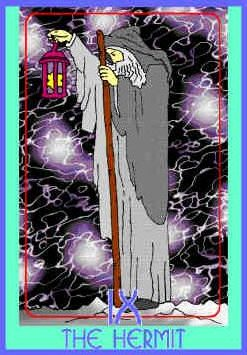 hermit-colman-smith-tarot