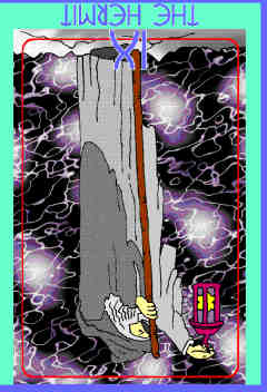 hermit-reversed-colman-smith-tarot