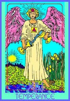 temperance-colman-smith-tarot