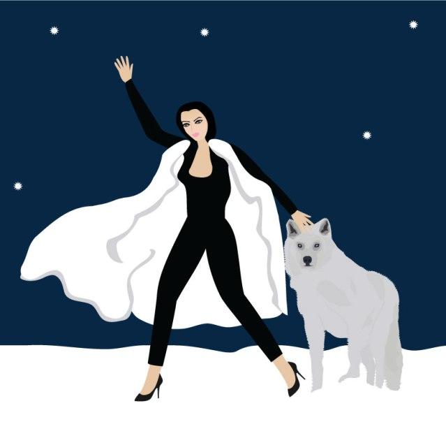 wolf-protecting-woman-image-source- istorsvetlana/Shutterstock.com